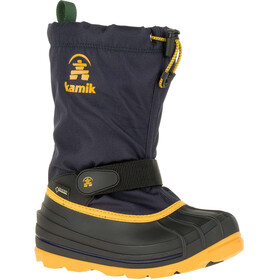 Kamik Waterbug 8G Winter Boots Youth navy/citrus